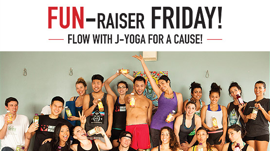 J-Yoga Fun-raiser