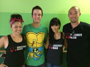 Jenny Kita, Tyler Chapman, Minae Noji and Jonathan Wang